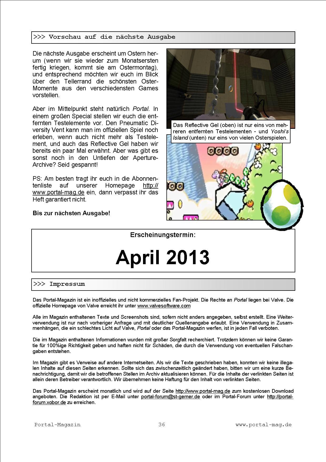 Ausgabe 13, Seite 36
