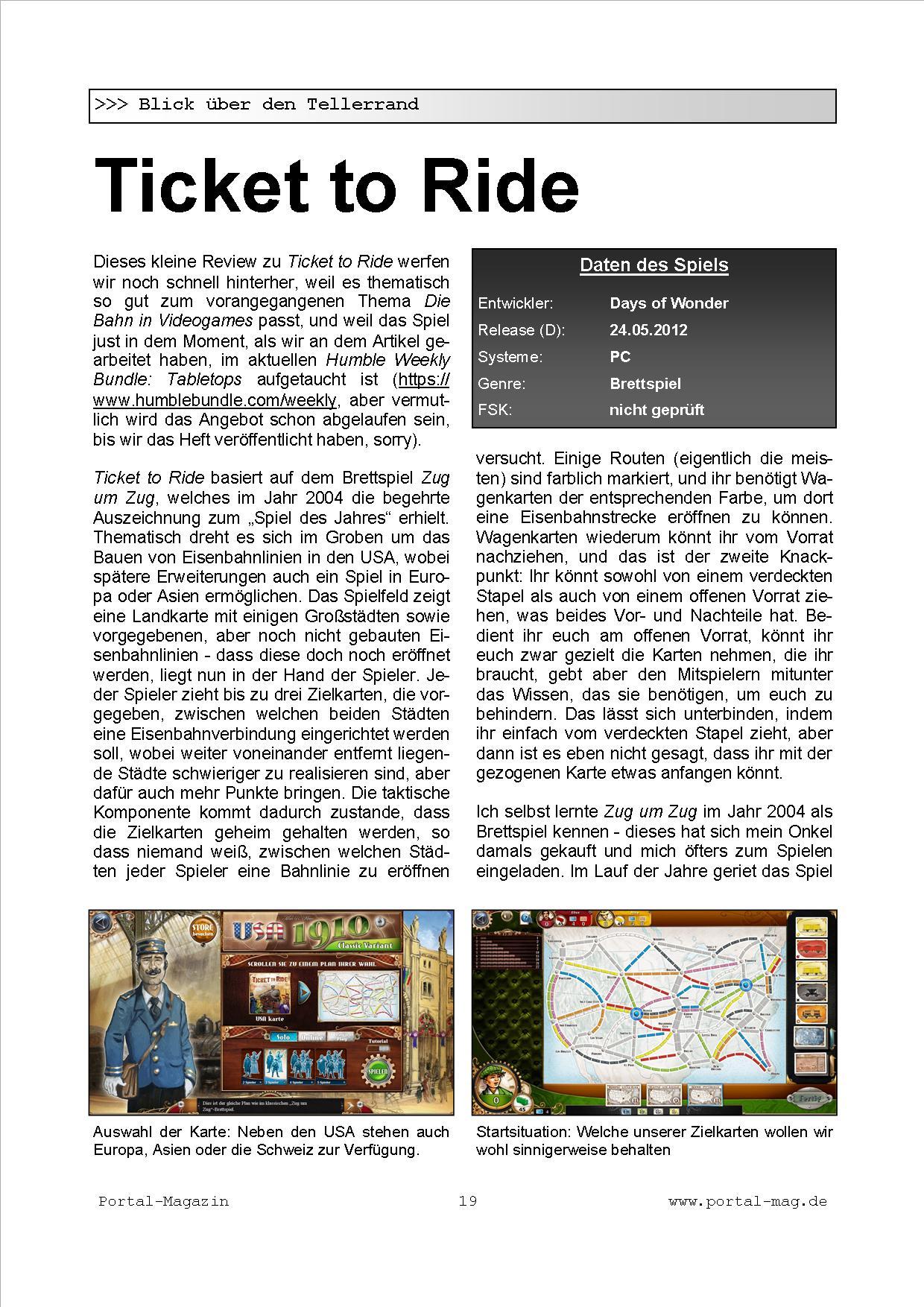 Ausgabe 30, Seite 19