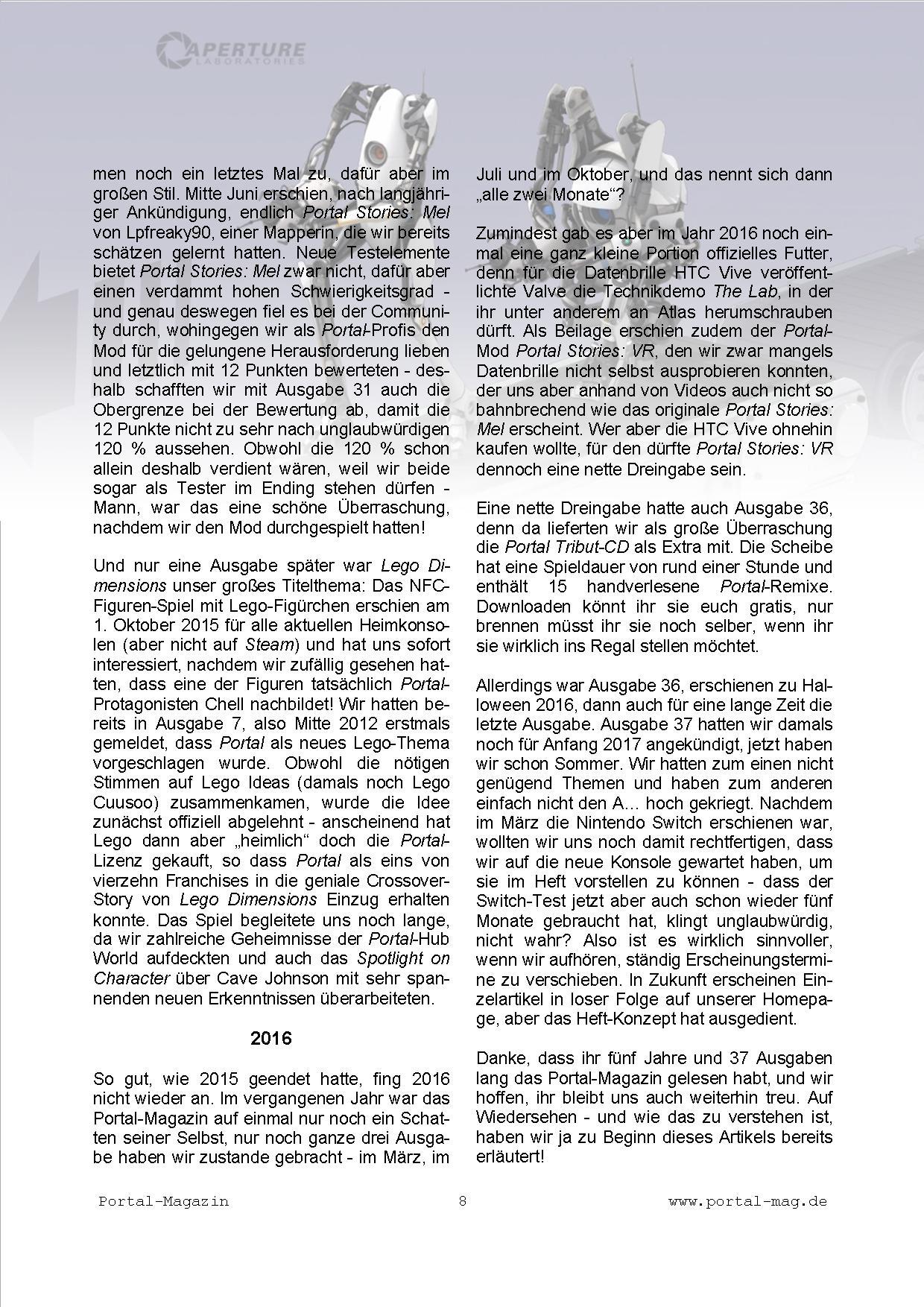Ausgabe 37, Seite 8